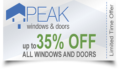 Peak Windows & Doors - 25% Off Coupon