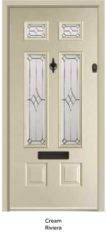 Peak Endurance Doors - Bowmont - Cream Riviera