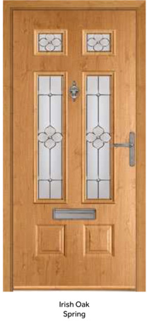 Peak Endurance Doors - Bowmont - Irish Oak Spring
