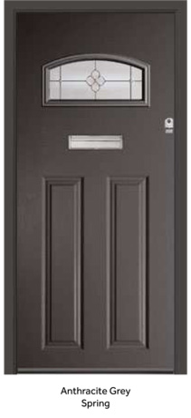 Peak Endurance Doors - Cader Idris - Anthracite Grey Spring
