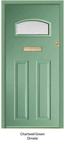Peak Endurance Doors - Cader Idris - Chartwell Green Ornate