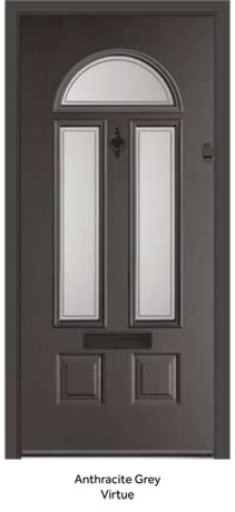 Peak Endurance Doors - Cheviot - Anthracite Grey Virtue