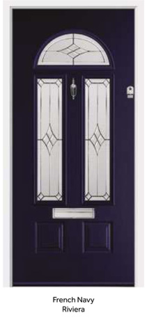 Peak Endurance Doors - Cheviot - French Navy Riviera