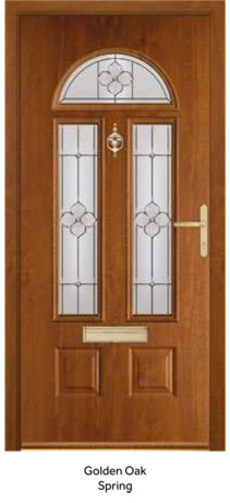 Peak Endurance Doors - Cheviot - Golden Oak Spring