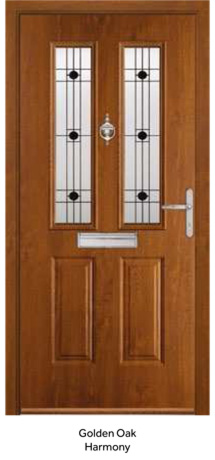 Peak Endurance Doors - Etna - Golden Oak Harmony