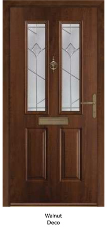 Peak Endurance Doors - Etna - Walnut Deco