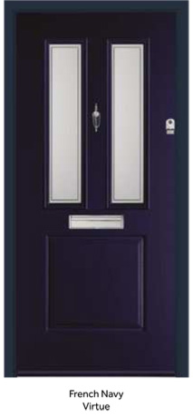 Peak Endurance Doors - Monte Rosa - French Navy Virtue