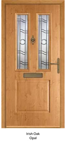 Peak Endurance Doors - Monte Rosa - Irish Oak Opal