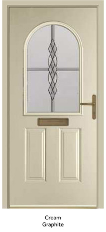Peak Endurance Doors - Olympus - Cream Graphite