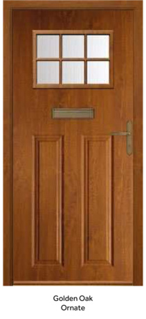 Peak Endurance Doors - Pentland - Golden Oak Ornate