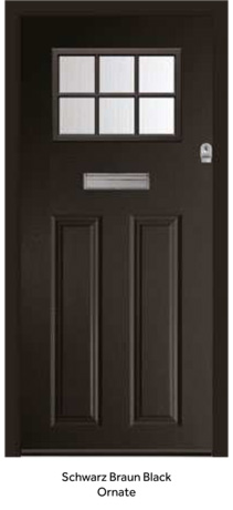 Peak Endurance Doors - Pentland - Schwarz Braun Black Ornate