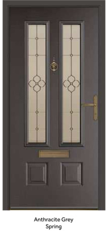 Peak Endurance Doors - Scafell - Anthracite Grey Spring