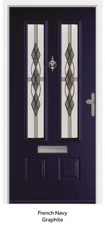 Peak Endurance Doors - Scafell - French Navy Graphite