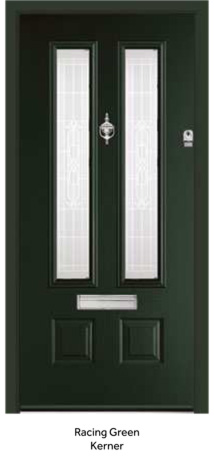 Peak Endurance Doors - Scafell - Racing Green Kerner