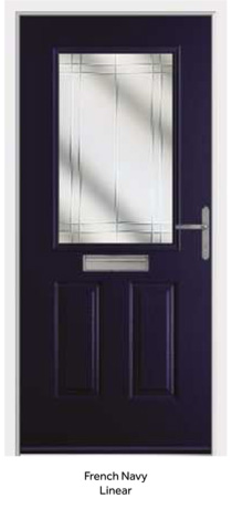 Peak Endurance Doors - Snowdon - French Navy Linear