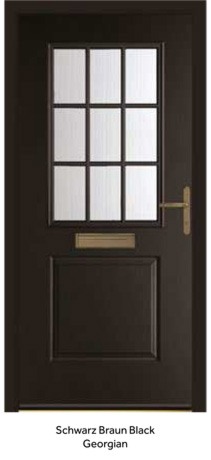 Peak Endurance Doors - Tate - Schwarz Braun Black Georgian