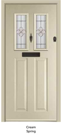 Peak Endurance Doors - Walton - Cream Spring