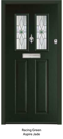 Peak Endurance Doors - Walton - Racing Green Aspire Jade