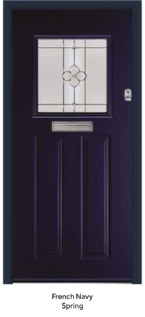 Peak Endurance Doors - Wentwood - French Navy Spring
