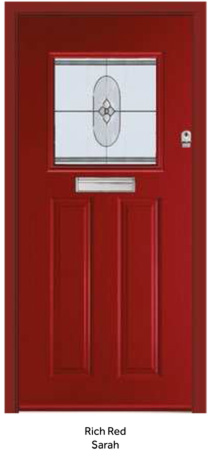 Peak Endurance Doors - Wentwood - Rich Red Sarah