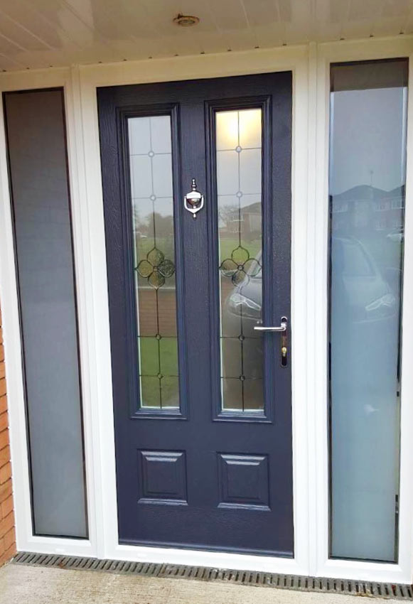 Williamson Front Door from Peak Windows & Doors